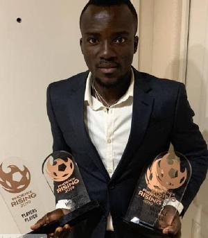 Solomon Asante Awards Four