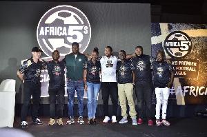 Africa 5s ambassador, Samuel Eto