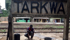 The railway will help revive the mining town of Tarkwa. REUTERS/Matthew Mpoke Bigg
