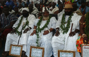 Group picture of traditional leaders present