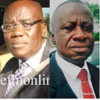 CEO of Forestry Commission of Ghana, Sir John and Group Chief Executive of GOIL, Osei Kwame Prempeh