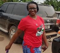 Spokesperson for NDC's 2016 Campaign, Joyce Bawa Mogtari