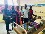 NDC communication members with Bomuye Sulemana