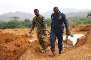 Illegal mining remains a major cause of water pollution in Ghana