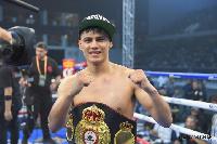 WBA Super Bantamweight champion, Daniel Roman