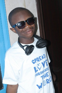 12-year-old visually impaired musician of Talented Kidz fame Christian Morgan