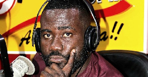 Okatakyie Afrifa-Mensah, host of Happy 98.9FM