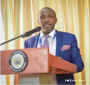 General Secretary of the ruling New Patriotic Party, John Boadu