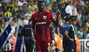 Ghanaian midfielder, Bernard Mensah