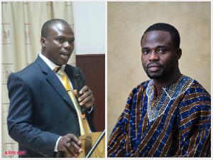 Sulemana Brimah and Manasseh Azure Awuni