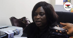 Acting Director of Public Affairs of parliament, Kate Addo