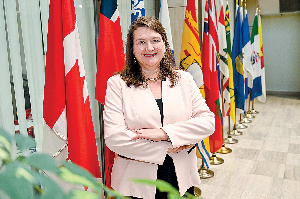 Kath Csaba, Canadian High Commissioner to Ghana