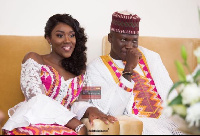 Stonebwoy and his wife Dr. Louisa
