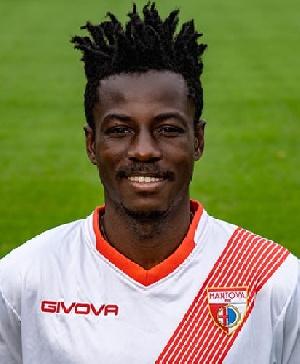 Italy based striker, David Johnson Yeboah