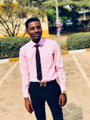 Osei Gyamfi Collins is a student physician assistantship at the Christian Service University