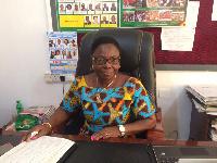 Mrs Monica Ankrah, Eastern Regional Director, Ghana Education Service
