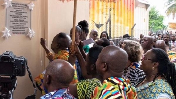 The new diabetes centre at the Komfo Anokye Teaching Hospital in Kumasi