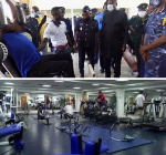 Officers have been asked to take advantage of the gym in order to keep fit
