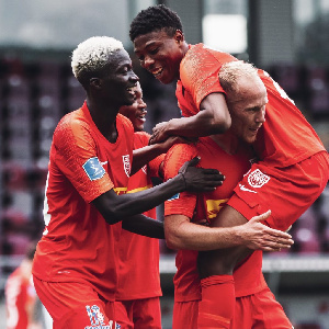 Ghanaian duo at FC Nordsjaelland