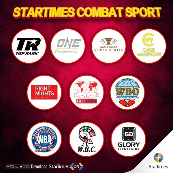StarTimes brings the best of world combat sports into Africa