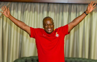 Former President, John Dramani Mahama will have only half of his filing fees to pay
