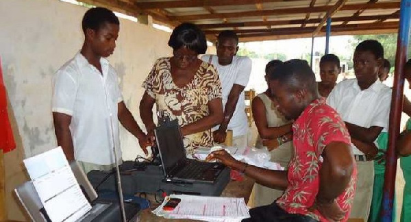 Voters register: CODEO commends EC for a good start