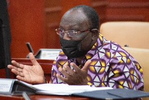 Minister of Trade and Industries, Alan John Kojo Kyerematen