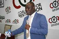 Isaac Adongo, MP for the Bolgatanga Central Constituency