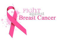 October is noted as the world breast cancer awareness month