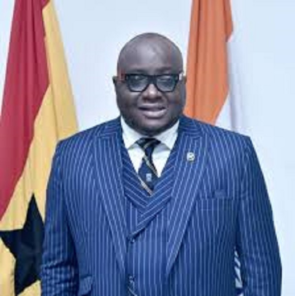 Former Ghana High Commissioner to India, Michael Oquaye Jnr