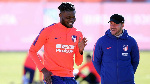 Injured Thomas Partey steadily making progress in recovery room