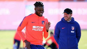 Thomas Partey getting back in shape