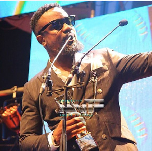 Sarkodie was adjudged the best collaboration song with his song 'Pain Killer'