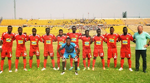 Kotoko trains at Lizzy Sports Complex