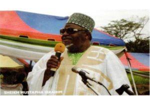 Sheikh Mustapha Ibrahim, Chairman of ICODEHS