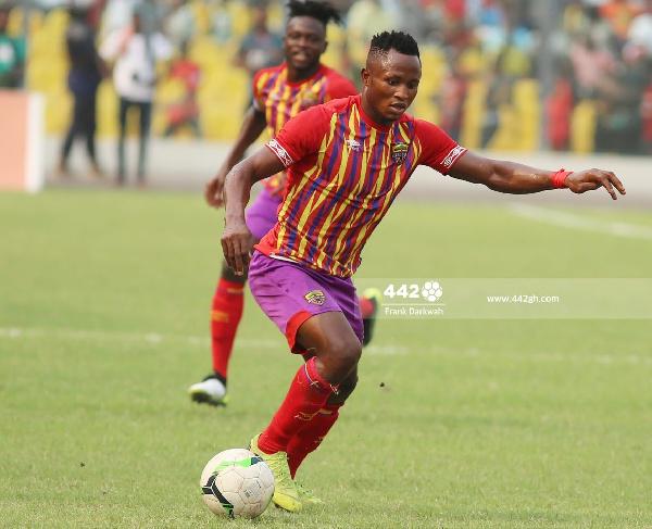 Former Accra Hearts of Oak forward, Joseph Esso