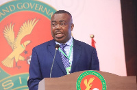 Director General of the State Interests and Governance Authority, Stephen Asamoah Boateng