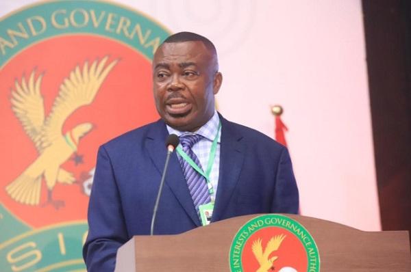 Director-General of Governance Authority, Stephen Asamoah Boateng