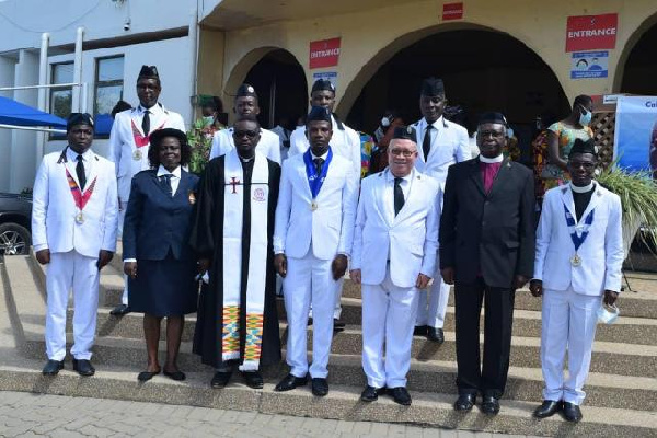 Ghana Boys Brigade inducts first National Patron