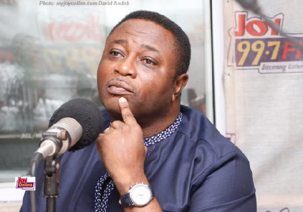 Former Youth and Sports Minister, Elvis Afriyie Ankrah