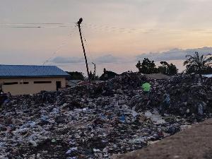 Garbage At Kalphoeni