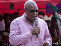 Former President of the Republic of Ghana,John Dramani Mahama