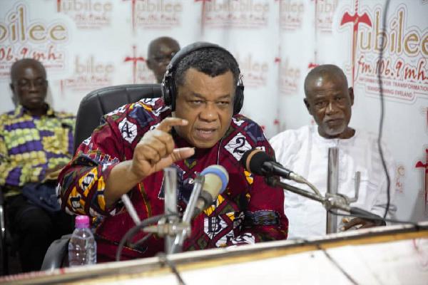 Augustus Goosie Tanoh, NDC Presidential Aspirant