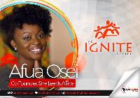 Afua Osei, Co- Founder of She Leads Africa (SLA)