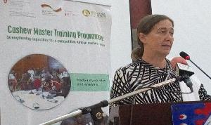 Rita Weidinger, Executive Director of ComCashew