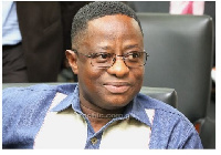 Minister for Lands and Natural Resources, John Peter Amewu