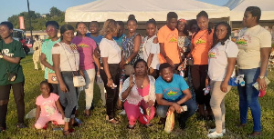 Some participants of the World Tourism Day celebration in Takoradi