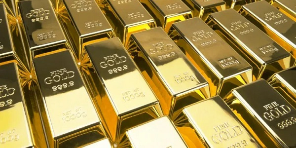 File photo of gold bars