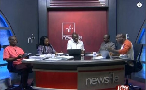 Newsfile airs from 9:00 GMT to 12:00 GMT on Saturdays