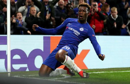Hudson-Odoi made his senior Chelsea debut in an FA Cup tie against Newcastle in January 2018